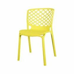 Without Armrest Plastic Chair