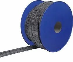 Flexible Graphite Yarn with Inconel Wire Braided Packing, For Valves, 650