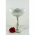 Silver Glass Venice Bowl
