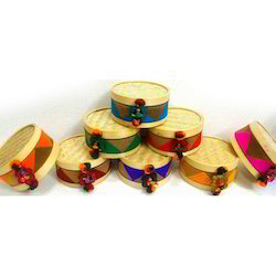 6x3 Bamboo Round Gift Box