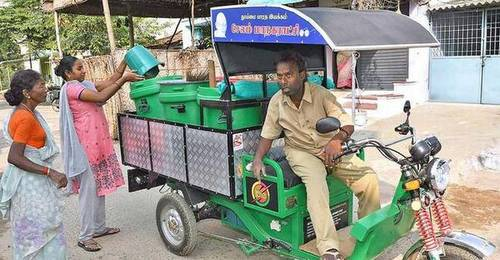 Battery- Operated Vehicles For Garbage Collection, Vehicle Model: 2018