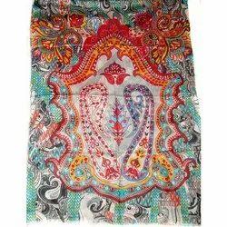 Digital Print Silk Shawls