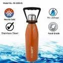 Probott Stainless Steel Double Wall Vacuum Flask Tradition Sports Bottle 1000ml (PB 1000-01)