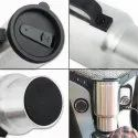 Car Charging Electric Kettle Stainless Steel Travel Coffee Mug