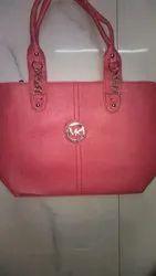 Ladies Pink Hand Bag