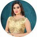 Cashbazzar Ladies Banglori Satin Blouse