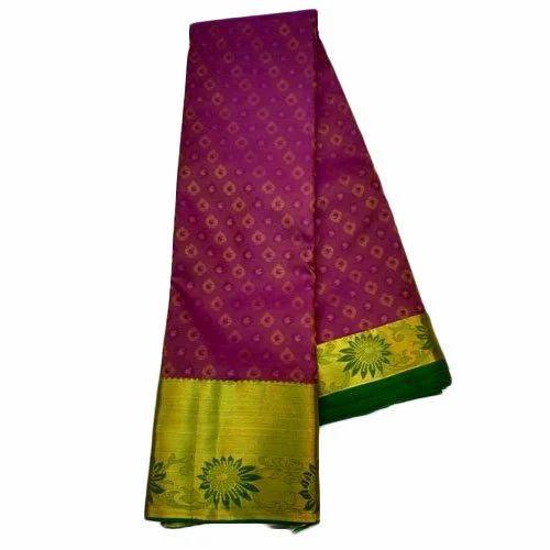 e44f6be77c Silk Bridal Wear Kanchipuram Pattu Saree, Rs 1650 /piece, Tirumala ...