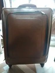 Leather Trolley Bag