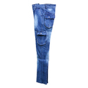 Boys Blue Cargo Jeans, Size: 32 To 40