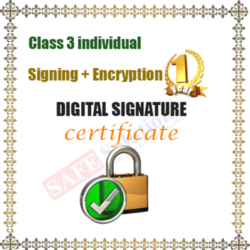 Class 3 Signing and Encryption Digital Signature Service