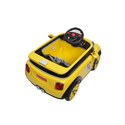 Yellow And Black Yellow Battery Operated Kids Car