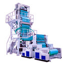Blowing Film Pouch Machine