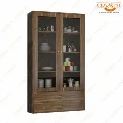 Crystal Furnitech Engineering Wood Crockery shelves, For Home