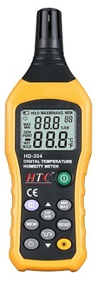 HTC Temp. & Humidity Meter  HD - 304
