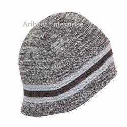 Acrylic Woolen Winter Skull Cap