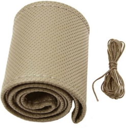 Autoform Hand Stitched Steering Cover Beige A Size