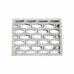 Concrete Grey Cement Ventilation Jali, for Building Construction