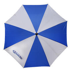 0ea70a6a38cc9 Blue And White Polyester Promotional Umbrella, Rs 60 /piece | ID ...