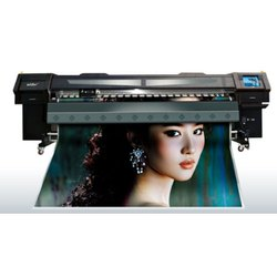Wider KM12 Digital Solvent Printer