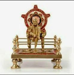 Brass Made Saibaba Chowki Yantra