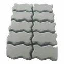 Grey Zig Zag Paver Block