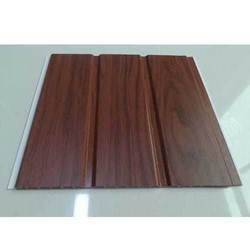 Brown PVC Panel, For Residential & Commercial, Thickness: 5 To 10 Mm