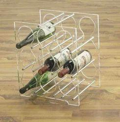 Acrylic Wine Stand