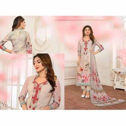 08c49c831b Chiffon Party Wear Designer Ladies Suit Material, Rs 1331 /piece ...