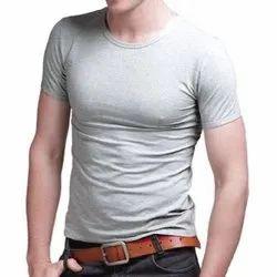 Mens Cotton Lycra T Shirts