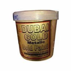 Veldon High Gloss Dubai Gold Metallic Gold Paint, Packaging Type: Bucket, Packaging Size: 1 L