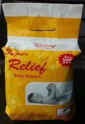Nonwoven Newly Born Baby Diaper