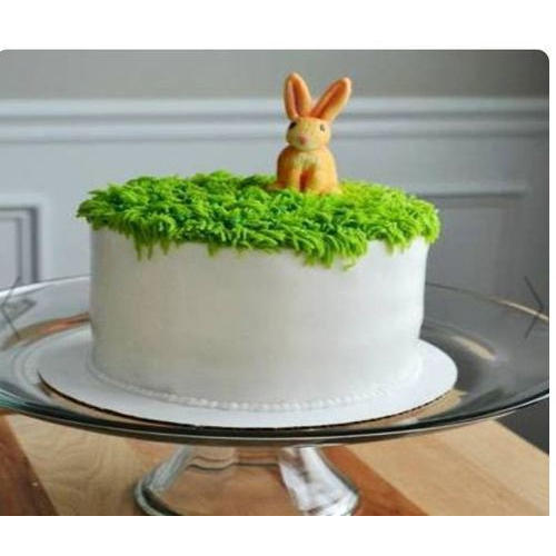 Bunny Theme Birthday Cake