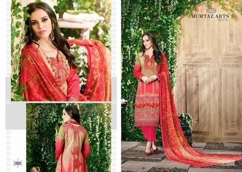 cc917ef204 Printed Regular Wear Mumtaz Arts The Original Lawn Vol 7 Cotton With  Chiffon Dupatta Lowest Price