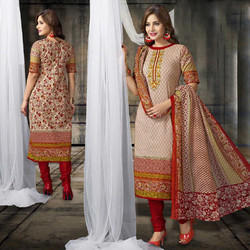 Partywear Cotton Suit