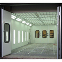 Down Draft Dry Type Spray Booth