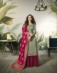 Pr Fashion Launched Beautiful Designer Palazzo Suit