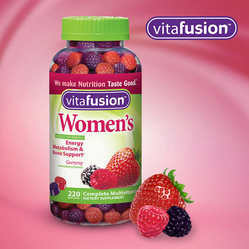 Female Vitafusion Women's Multivitamin, 220 Gummies