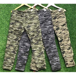 Printed Army Cotton Pants