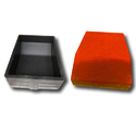 Kerb Stone 2 Paver Blocks Rubber Mould