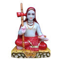 Marble Sant Gyaneshwar Statue