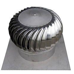 600 Stainless Steel Faisal Shine Wind Turbo Ventilator, for Workshops