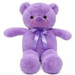 Purple Stuffed Teddy Bear