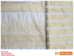 Dyeable Pallu and Border