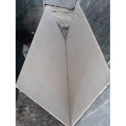 Aagria White Marble Slab, Thickness: 15-20 mm