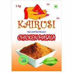 KAIRUSI Chicken Masala, Packaging Size: 1 KG, Packaging Type: Packets