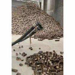 Brown Wood Briquette