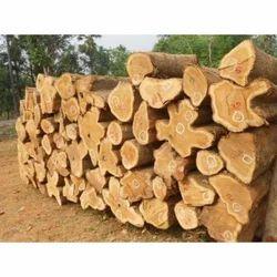 Brown Silverwood Round Logs