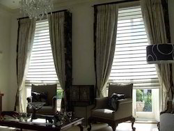 Vertical Curtains With Blinds