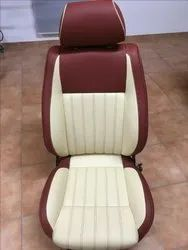Brown Leather Seat Cover