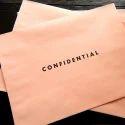 Plain Pink Confidential Mailing Envelope